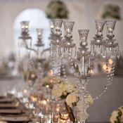 Серебро в оформлении свадьбы