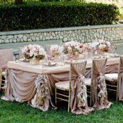 Шоколадное оформление свадьбы