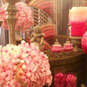 Персиковое свадебное оформление