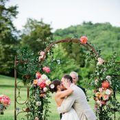 Арка зеленая на свадьбу