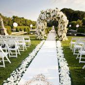Шикарная свадебная арка