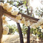 Свадебная арка из дерева