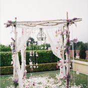 Березовая арка на свадьбу