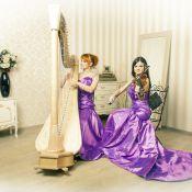 Арфа и скрипка (или виолончель)