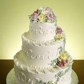 Свадебный торт «Нежный»