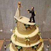 Свадебный торт «Хрустящий»