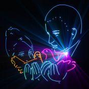 Love story (Лавстори) Лазерное шоу на свадьбу