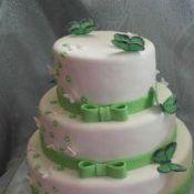Свадебный торт «Фисташковый»