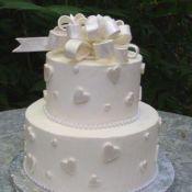Свадебный торт «Ореховый»
