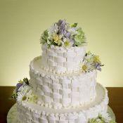 Свадебный торт «Молочный»