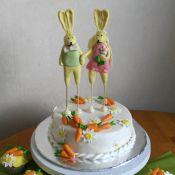 Свадебный торт «Любовь-Морковь»