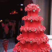 Свадебный торт «Красный бархат»