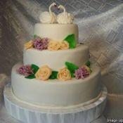 Свадебный торт «Рыжик»