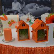 Оформление свадьбы в стиле любовь-морковь