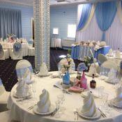 Оформление свадьбы в голубых тонах