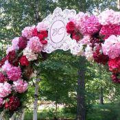 Оформление свадьбы в стиле марсала
