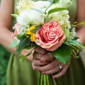 свадебный букет Бохо
