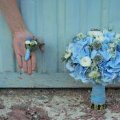 свадебный букет зимний