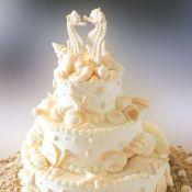 свадебный торт морской конек