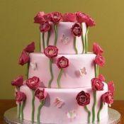 свадебный торт роза