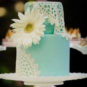 свадебный торт гербера