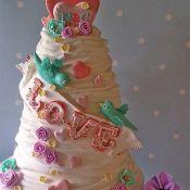 свадебный торт радость