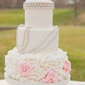 свадебный торт бусы
