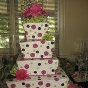 свадебный торт счатье