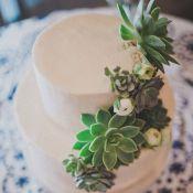 свадебный торт бохо