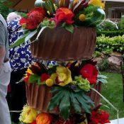 свадебный торт летний