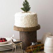 торт на свадьбу ель