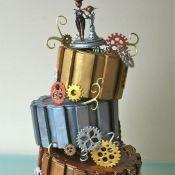 свадебный торт часики