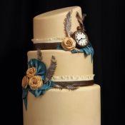 торт на свадьбу новый год