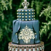 свадебный торт шикарный