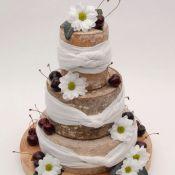 свадебный торт ромашка
