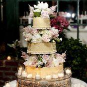 торт на свадьбу букет