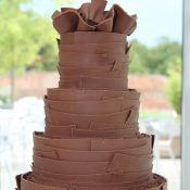 торт на свадьбу шоколад