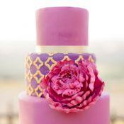 свадебный торт малина