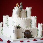 свадебный торт крепость