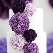 свадебный торт черника
