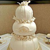торт на свадьбу рафаэлло