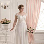 """Свадебное платье """"Аппликация"""""""