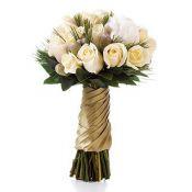 Букет на свадьбу майский с чайными розами