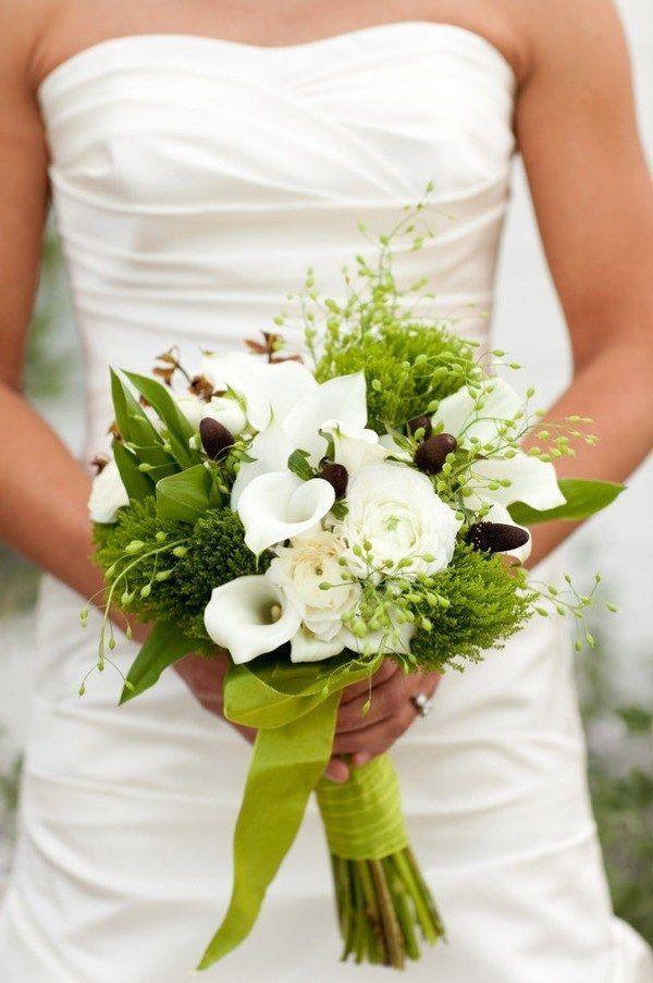 Фото цветы букет невесты