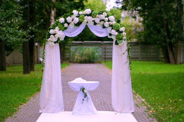 Как сделать арку на свадьбу своими руками дешево и красиво 51